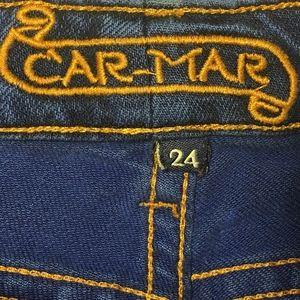 Carmar Aquamarine Daisy Duke Shorts